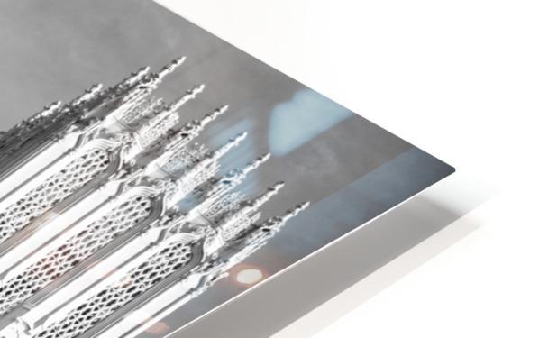 B&W Jesus Saves Building - DTLA HD Sublimation Metal print