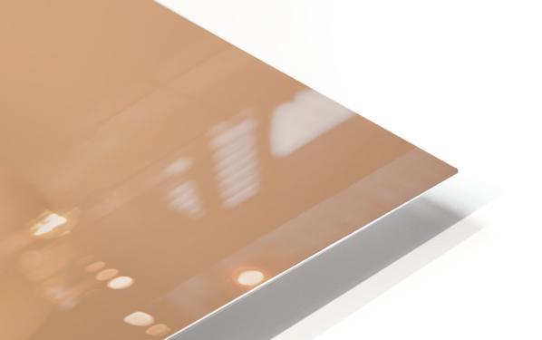 White Egg On Canvas warm light version HD Sublimation Metal print