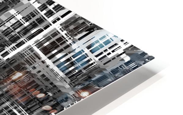 Construction HD Sublimation Metal print
