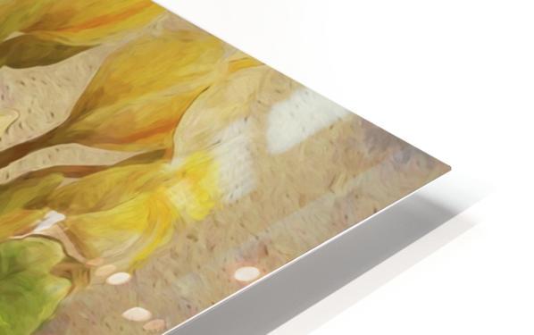 Floridian Bouquet HD Sublimation Metal print