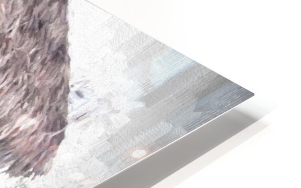 Hut HD Sublimation Metal print