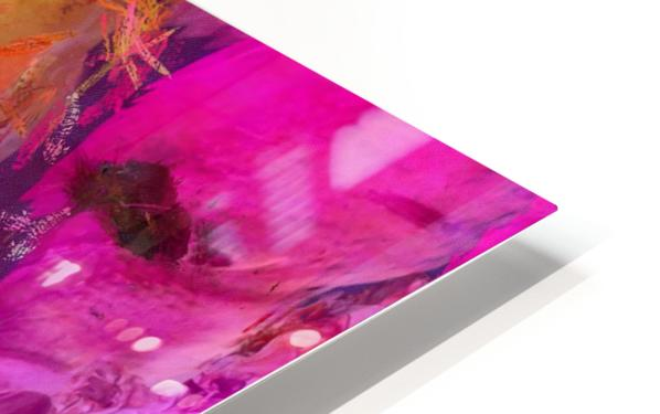 Bright Colorful Abstract Painting HD Sublimation Metal print