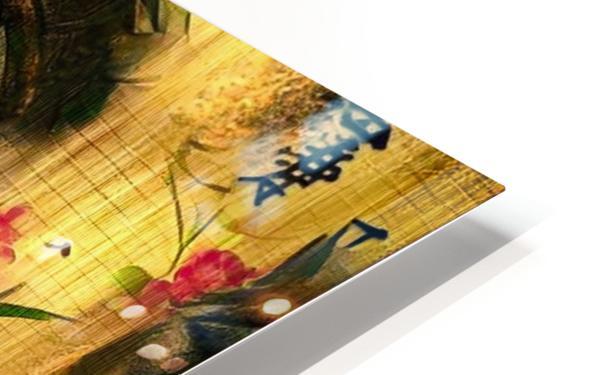 Asia Woman HD Sublimation Metal print