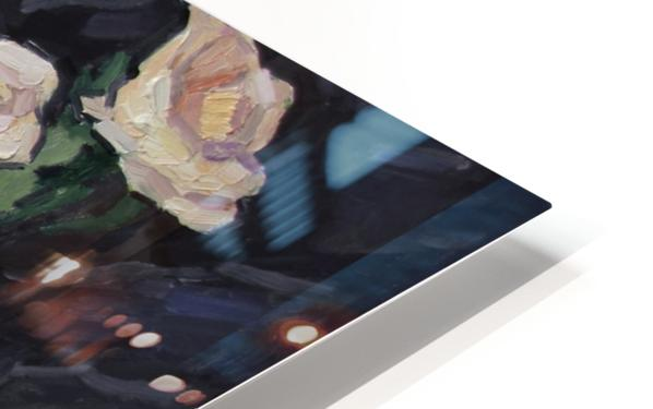 Three Roses HD Sublimation Metal print
