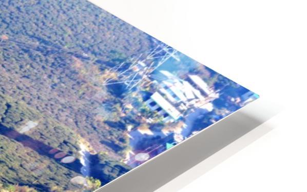 HIMALAYAN ROAD HD Sublimation Metal print