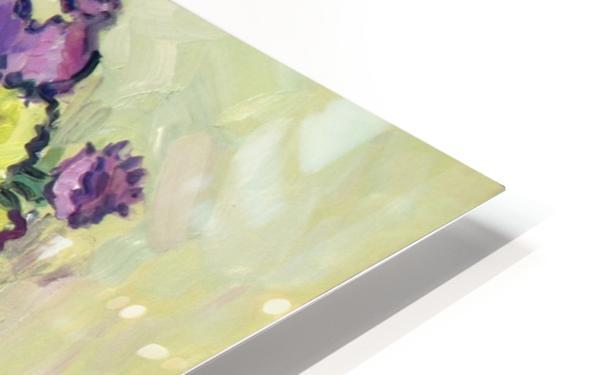 Chryzantemums HD Sublimation Metal print