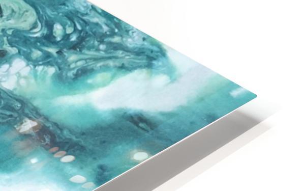 Ocean Glass HD Sublimation Metal print