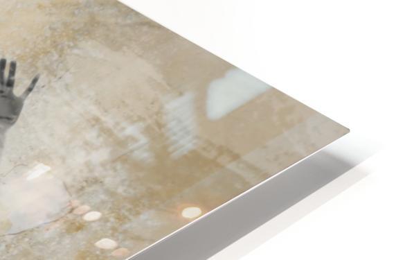 silouhette Impression de sublimation métal HD