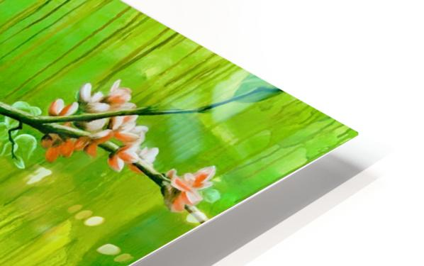 Green Spring HD Sublimation Metal print