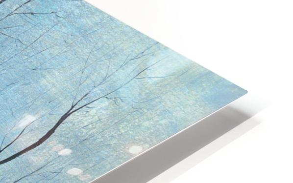 winter scenery HD Sublimation Metal print