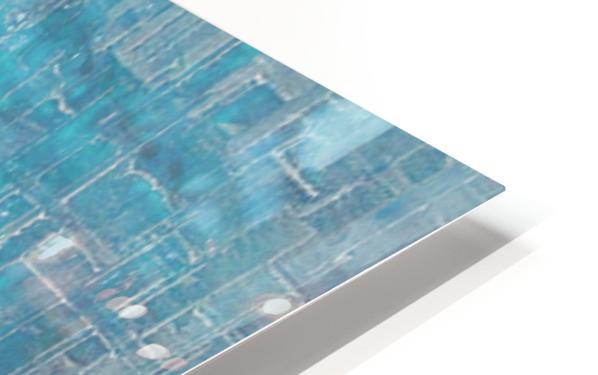 Spring Rain HD Sublimation Metal print