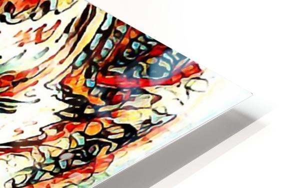 vafle HD Sublimation Metal print
