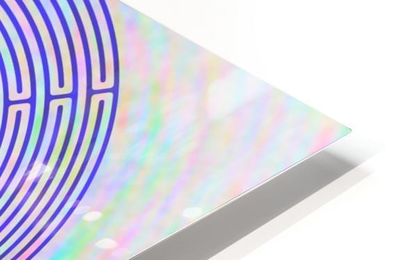 BLUE23 HD Sublimation Metal print