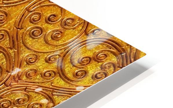 Golde pattern HD Sublimation Metal print