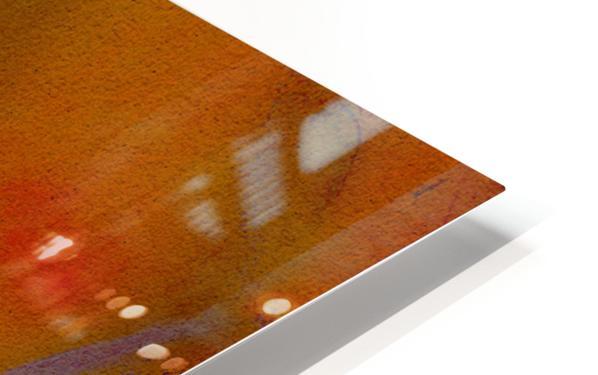 DESERT TRAIN HD Sublimation Metal print