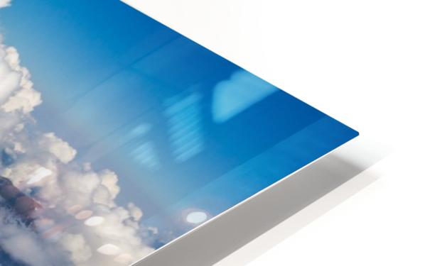 Above the Clouds HD Sublimation Metal print