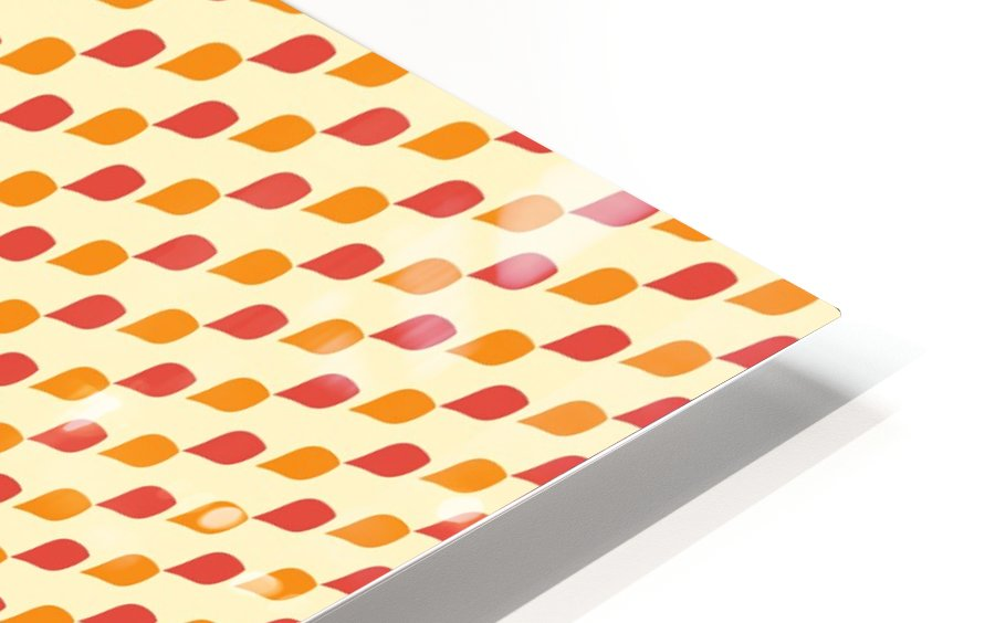 Leaf Pattern  HD Sublimation Metal print