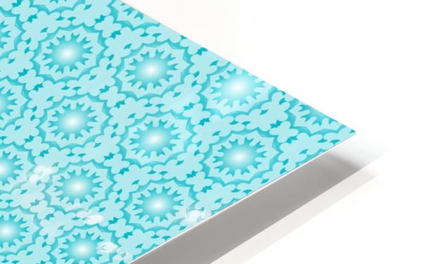 Islamic Blue Art  HD Sublimation Metal print