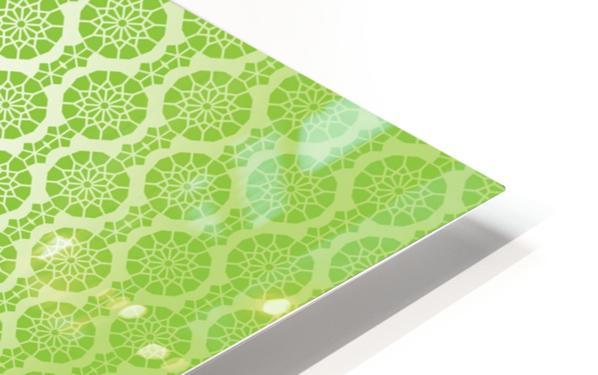 Islamic Green Art HD Sublimation Metal print