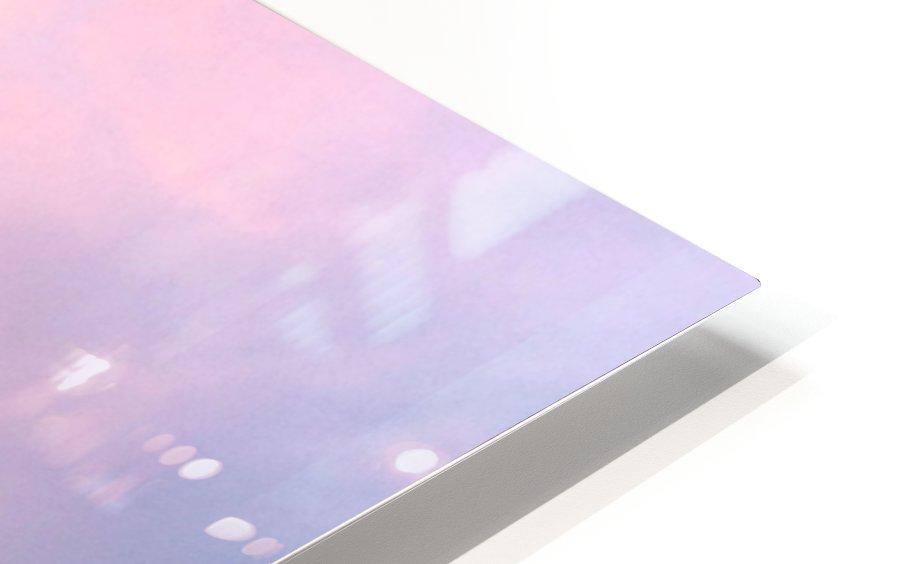 Sunset Sailboat HD Sublimation Metal print