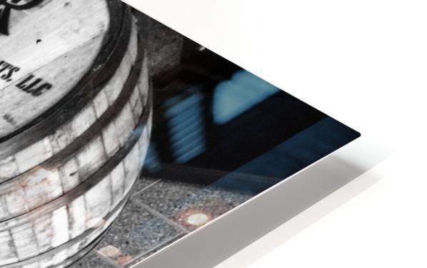 Whisky Barrels HD Sublimation Metal print