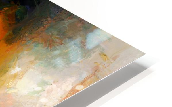 Colorful oil on canvas HD Sublimation Metal print