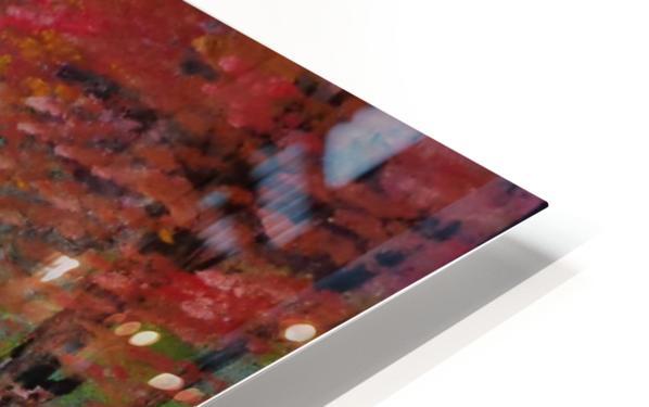 Pastel landscape HD Sublimation Metal print