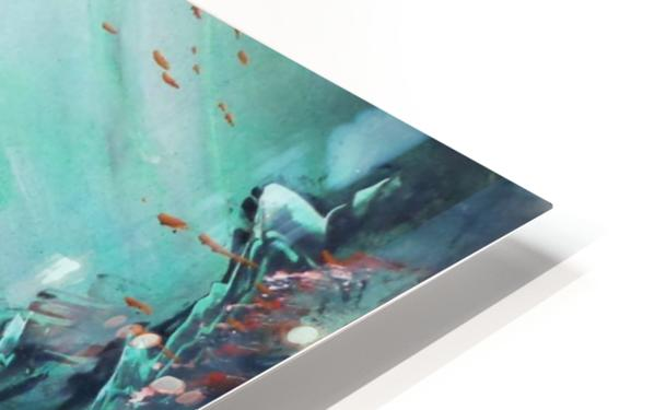 Under water HD Sublimation Metal print