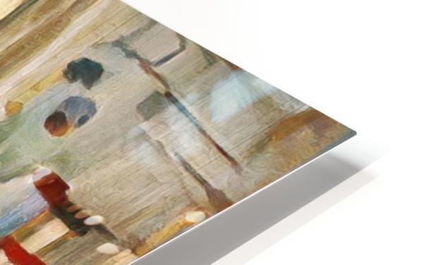 Rusty Shadows HD Sublimation Metal print