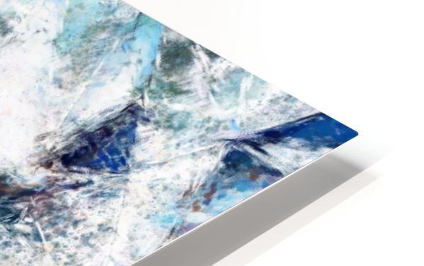 Exploding Panels HD Sublimation Metal print