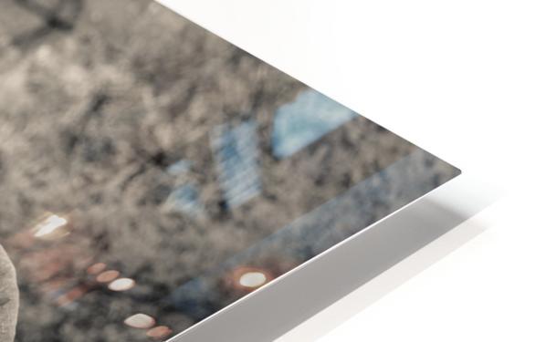 Straight Ahead - Droit Devant HD Sublimation Metal print