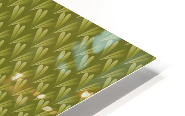 Green Land HD Sublimation Metal print