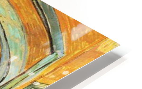 Corridor in Saint-Paul Hospital by Van Gogh HD Sublimation Metal print