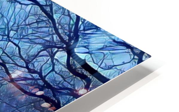 study in blue HD Sublimation Metal print
