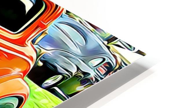 hot rod classic car  HD Sublimation Metal print