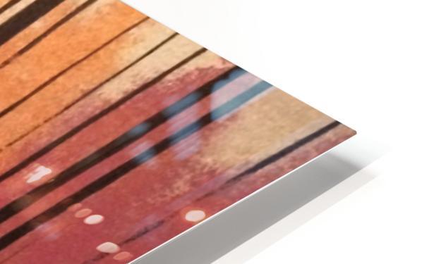 Sherbert Forest HD Sublimation Metal print