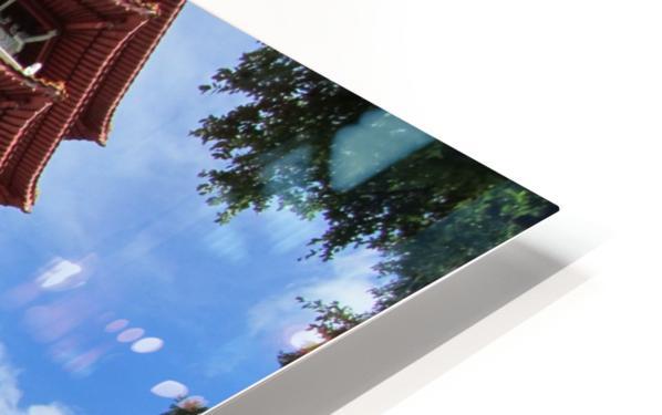 Pagoda HD Sublimation Metal print