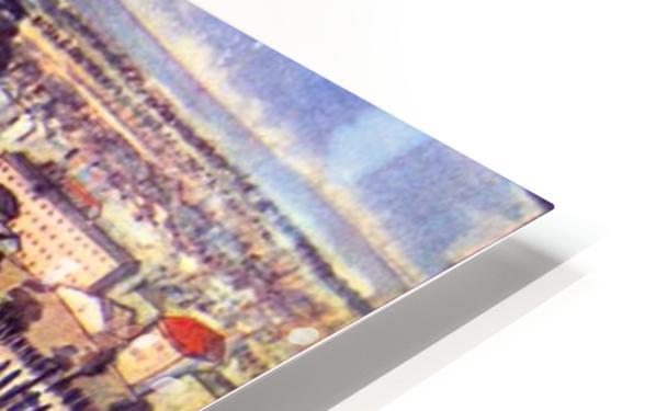 Factory by Van Gogh HD Sublimation Metal print