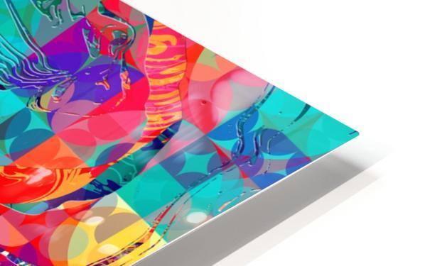 Geometric X HD Sublimation Metal print