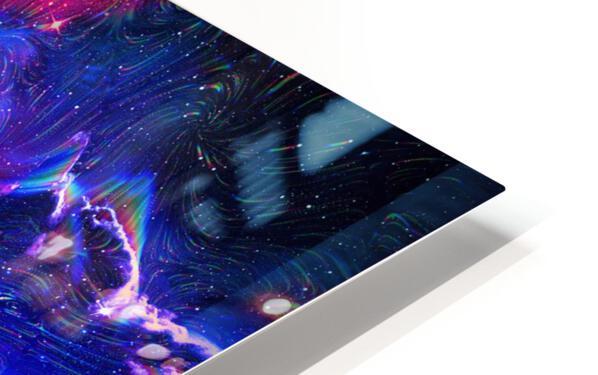 Colorful Galaxy  HD Sublimation Metal print