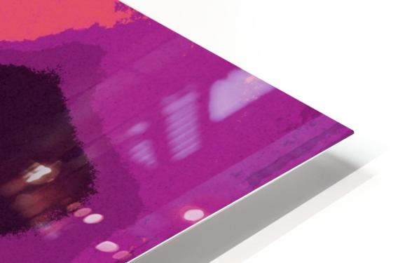 Buddha Altar -- Sunset Colors HD Sublimation Metal print