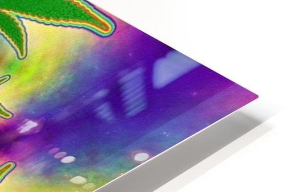 Marijuana Leaf HD Sublimation Metal print