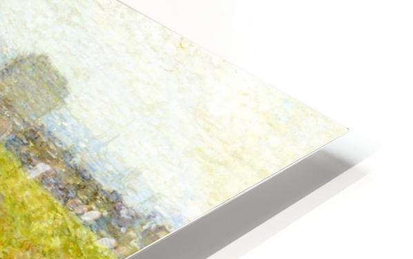 Woodland Pond HD Sublimation Metal print