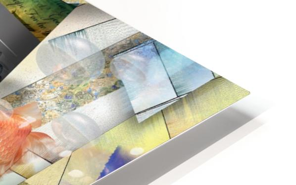 Abstraction HD Sublimation Metal print
