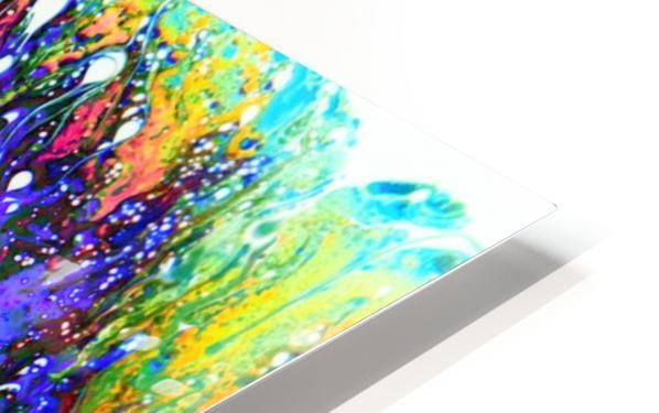 Bubbles Reimagined 61 HD Sublimation Metal print