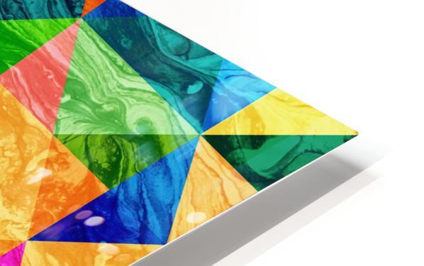 Geometric XXIX HD Sublimation Metal print