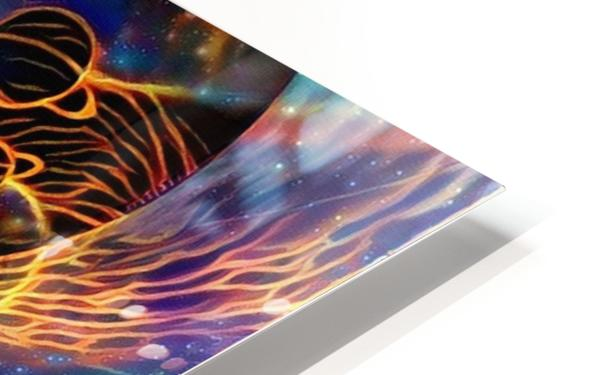 Colorful space HD Sublimation Metal print