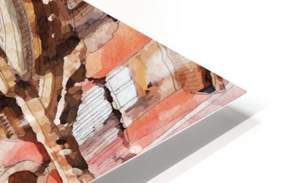 México La Casa del Mayorazgo San Miguel de Allende Impression de sublimation métal HD