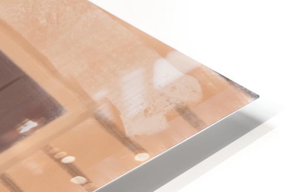 Cuba Wheelbarrow Worker HD Sublimation Metal print
