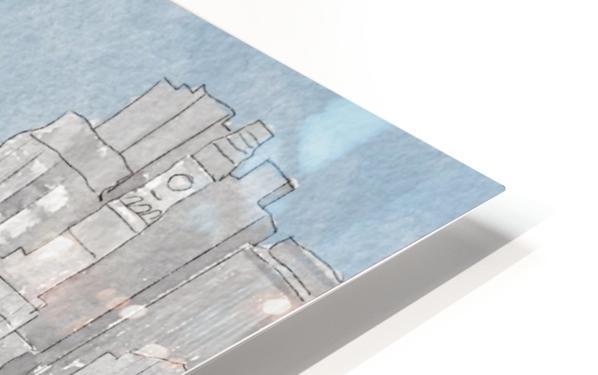 MBTA Hingham-Hull Ferry HD Sublimation Metal print
